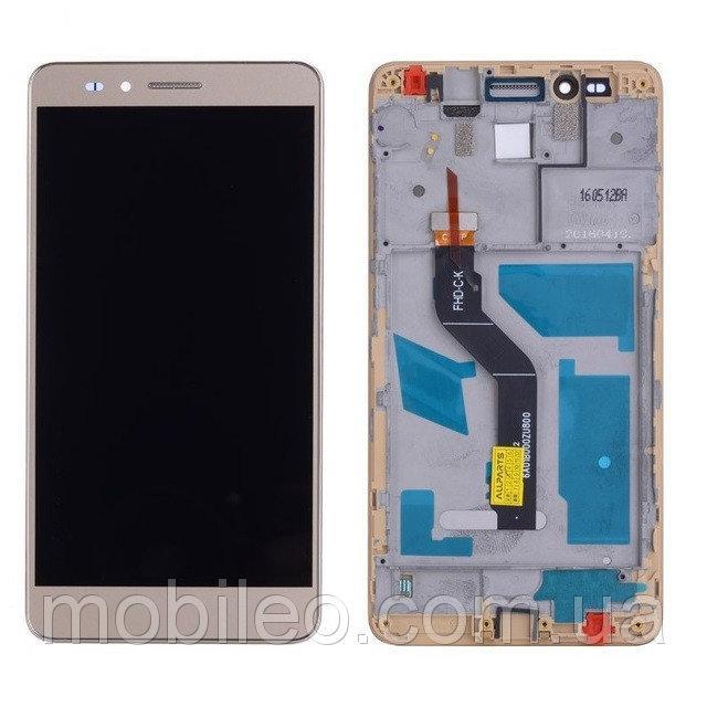 Дисплей (LCD) Huawei Honor 5X | GR5 (2016) | KIW-L21 с тачскрином и рамкой, чёрный