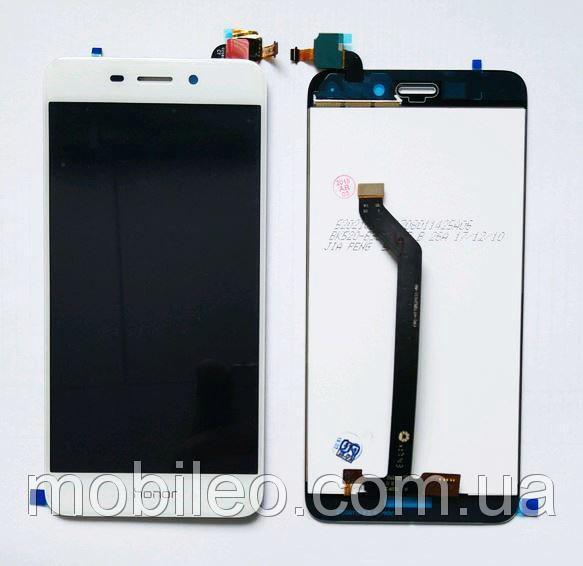 Дисплей (LCD) Huawei Honor 6C Pro | Honor V9 Play | JMM-L22 с тачскрином, белый (изогнутый шлейф)