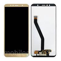 Дисплей (LCD) Huawei Honor 7A Pro   Enjoy 8e   Y6 (2018)   Y6 Prime (2018)   AUM-L29 с тачскрином, золотой