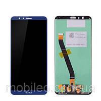 Дисплей (LCD) Huawei Honor 7X Dual Sim | BND-L21 с тачскрином, синий