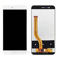 Дисплей (LCD) Huawei Honor 8 Pro | Honor V9 | DUK-L09 с тачскрином, белый