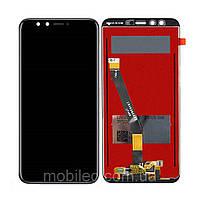 Дисплей (LCD) Huawei Honor 9 Lite | LLD-L31 с тачскрином, чёрный, фото 1