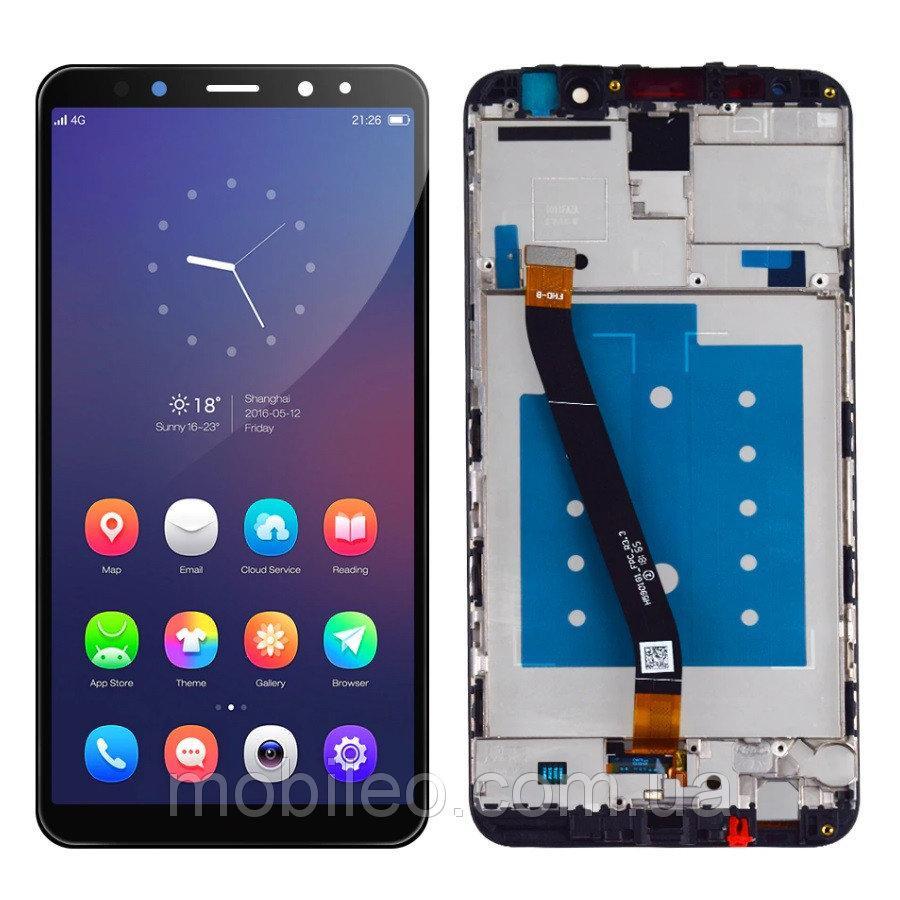 Дисплей (LCD) Huawei Mate 10 Lite | Nova 2i | RNE-L01 | RNE-L21 с тачскрином и рамкой, черный