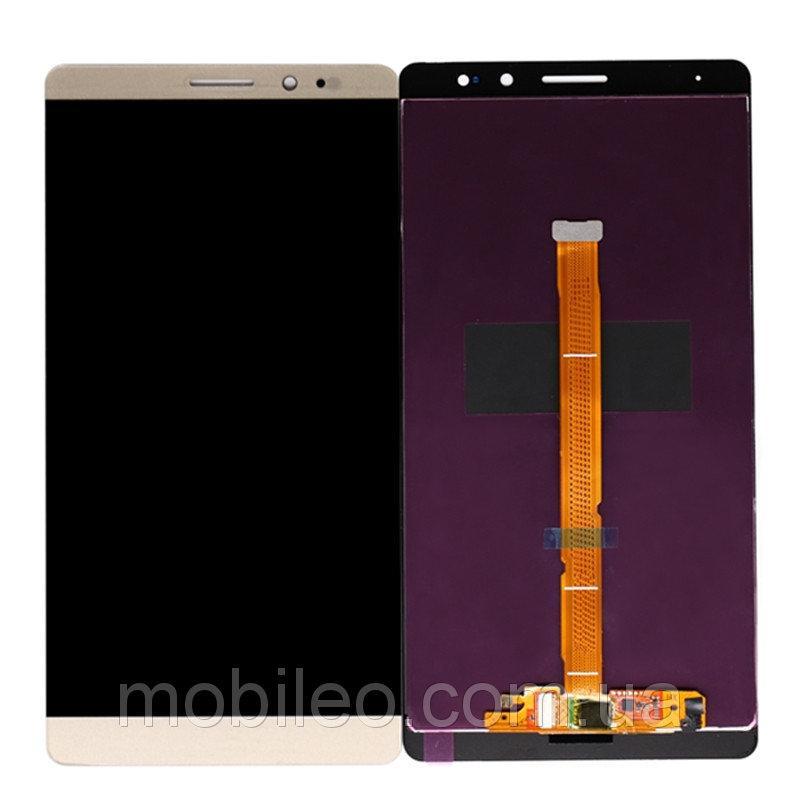 Дисплей (LCD) Huawei Mate 8 | NXT-L09 | NXT-L29Aс тачскрином, золотой