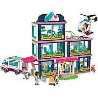 "Конструктор BELA Friend ""Клиника Хартлейк Сити"" 10761 (Аналог LEGO 41318) 887 деталей"