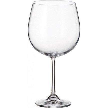 Бокалы для вина 670ml 6шт. Barbara (Milvus) Bohemia 1SD22/670, фото 2