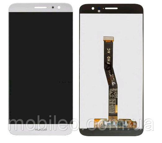Дисплей (LCD) Huawei Nova Plus | G9 Plus | MLA-L01 | MLA-L11 с тачскрином, белый
