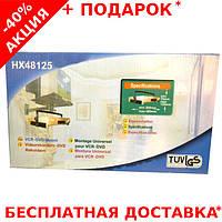 """Поворотный настенный кронштейн HX48125 DVD для телевизоров и мониторов диагональю до 16"""""""