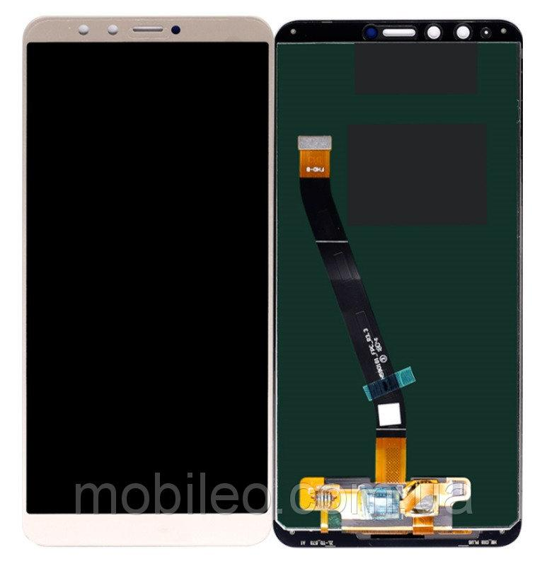 Дисплей (LCD) Huawei Y9 (2018) | Enjoy 8 Plus | FLA-LX1 | FLA-LX3 с тачскрином, золотистый