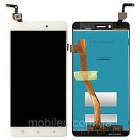 Дисплей (LCD) Lenovo K6 Note K53a48 с тачскрином, белый