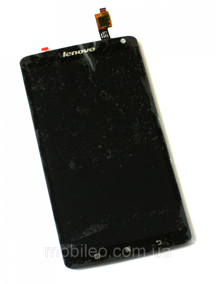 Дисплей (LCD) Lenovo S930 с тачскрином чёрный with frame orig
