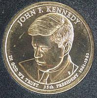 Монета США 1 доллар 2015 г. Джон Кеннеди - 35, фото 1