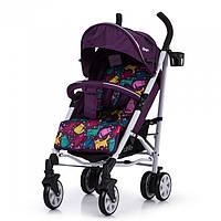 Коляска прогулочная CARRELLO Allegro CRL-10101/1 Kitty Purple в льне