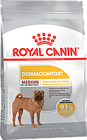 Royal Canin Medium Dermacomfort 10 кг для собак с раздражением кожи