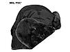 Шапка ушанка армейская  зимняя  черная  PILOTEN-PELZMÜTZE MA1®  MiL-Tec Германия, фото 7