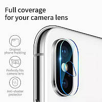 Защитное стекло на камеру для iPhone XS