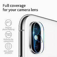 Защитное стекло на камеру для iPhone XS Max