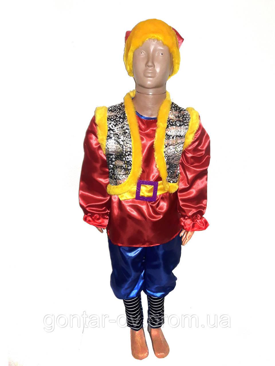 Новогодний костюм Гном Эльф Помошник Сантыик