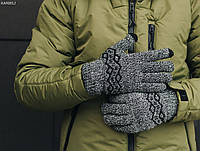 Перчатки Staff gray melange size S-M, фото 1