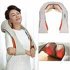 [ОПТ] Электрический роликовый пояс-массажер Massager of Neck Kneading для спины и шеи, фото 4