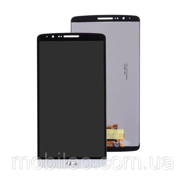 Дисплей (LCD) LG D855 D858 D859 Optimus G3 с тачскрином, белый ориг. к-во