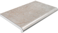 Подоконник Plastolit (Пластолит) Мрамор глянец, фото 1