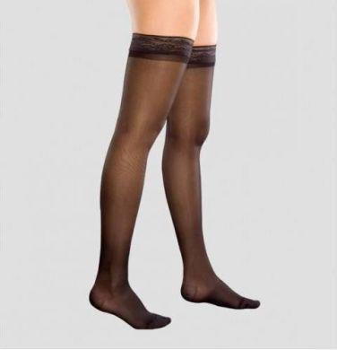 Чулки с компрессией закрытый носок (черн) Rxfit 8