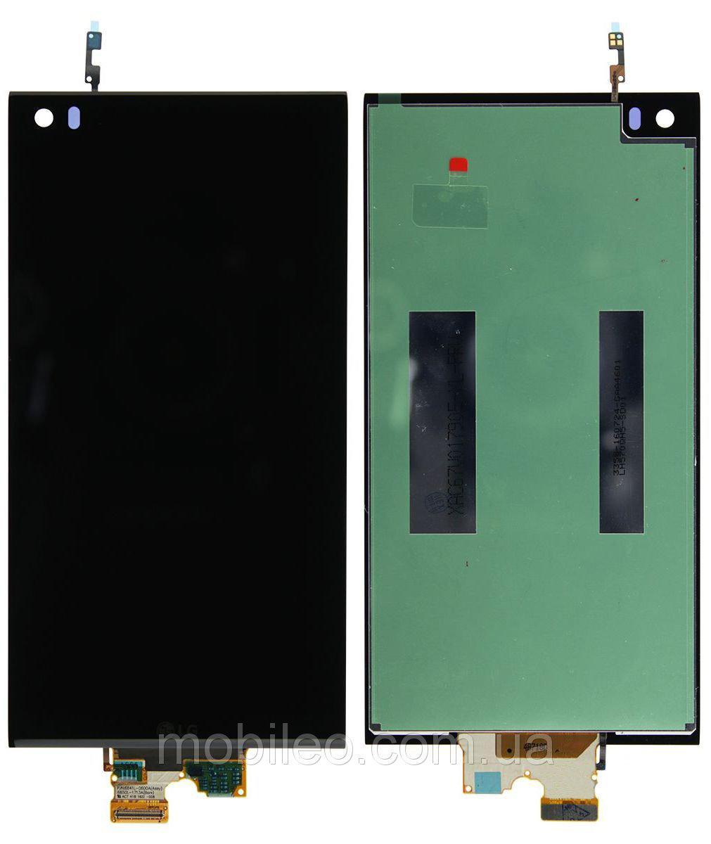 Дисплей (LCD) LG H910 V20 | H915 | H918 | H990 | F800 с тачскрином, чёрный