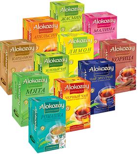 Чай ALOKOZAY и SUNLEAF