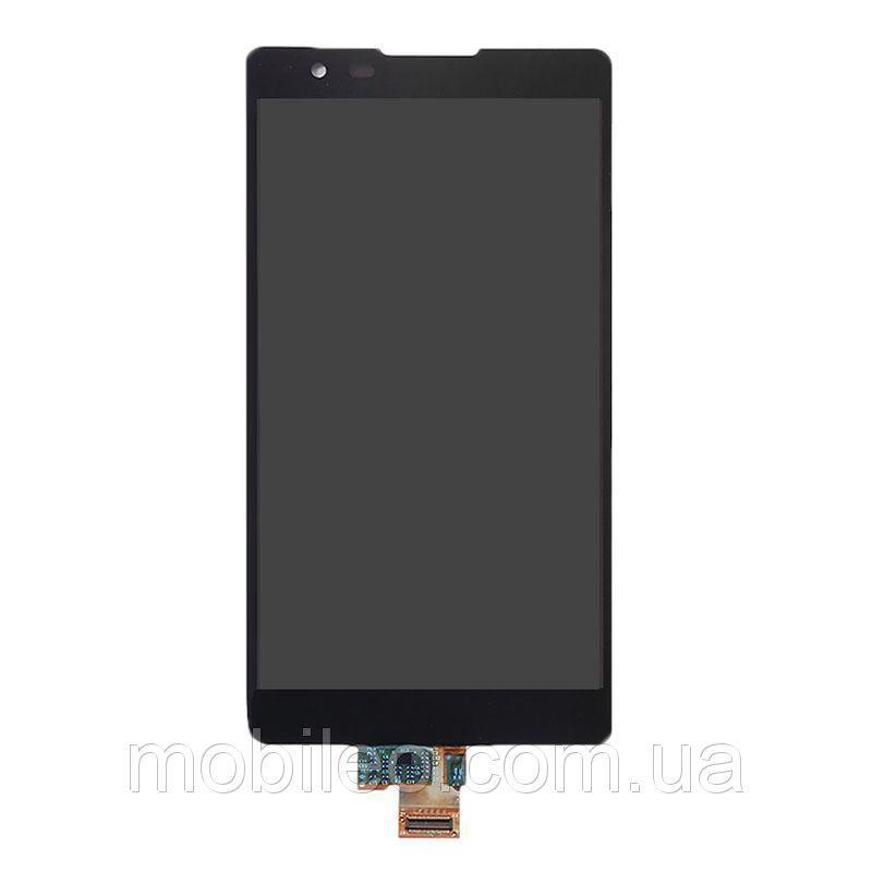 Дисплей (LCD) LG K220DS X Power с тачскрином, чёрный, ориг. к-во