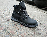 Кожаные зимние ботинки подросток 35-39, фото 1