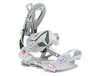 Крепление для сноуборда SP Core Fastec Grey/Olive 2019, фото 1