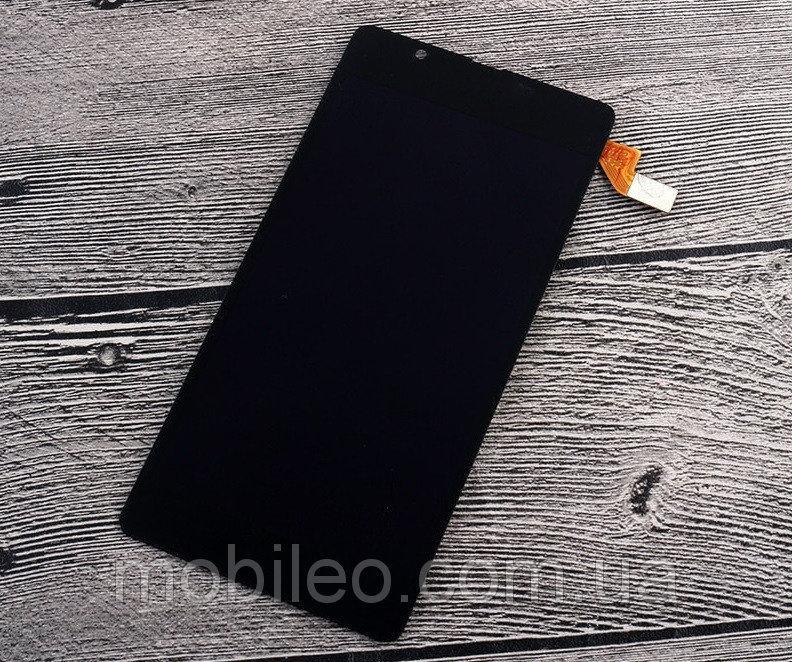 Дисплей (LCD) Microsoft (Nokia) 540 Lumia | RM-1140 | RM-1141 с тачскрином, чёрный