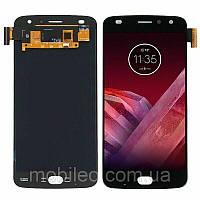 Дисплей (LCD) Motorola XT1710 Moto Z2 Play TFT с тачскрином, чёрный, фото 1