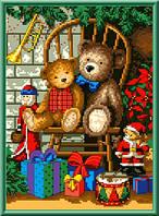 """Схема для вышивки крестом """"Рождественские подарки"""""""