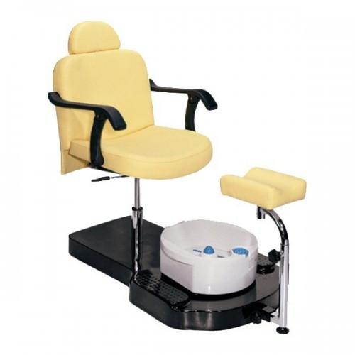 Кресло педикюрное ЮВА 6821brown коричневое