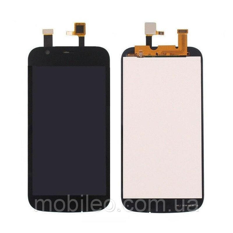 Дисплей (LCD) Nokia 1 Dual Sim   TA-1047   TA-1056   TA-1060   TA-1079 с тачскрином, черный, оригинал (PRC)