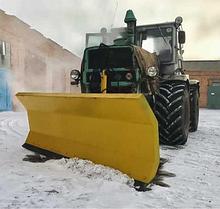 Снегоочиститель (снегоотвал) с амортизатором PVHU 230 для всех типов погрузчиков