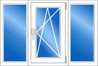 Окно ПВХ REHAU Ecosol 60 2100*1420 двухкамерный стеклопакет