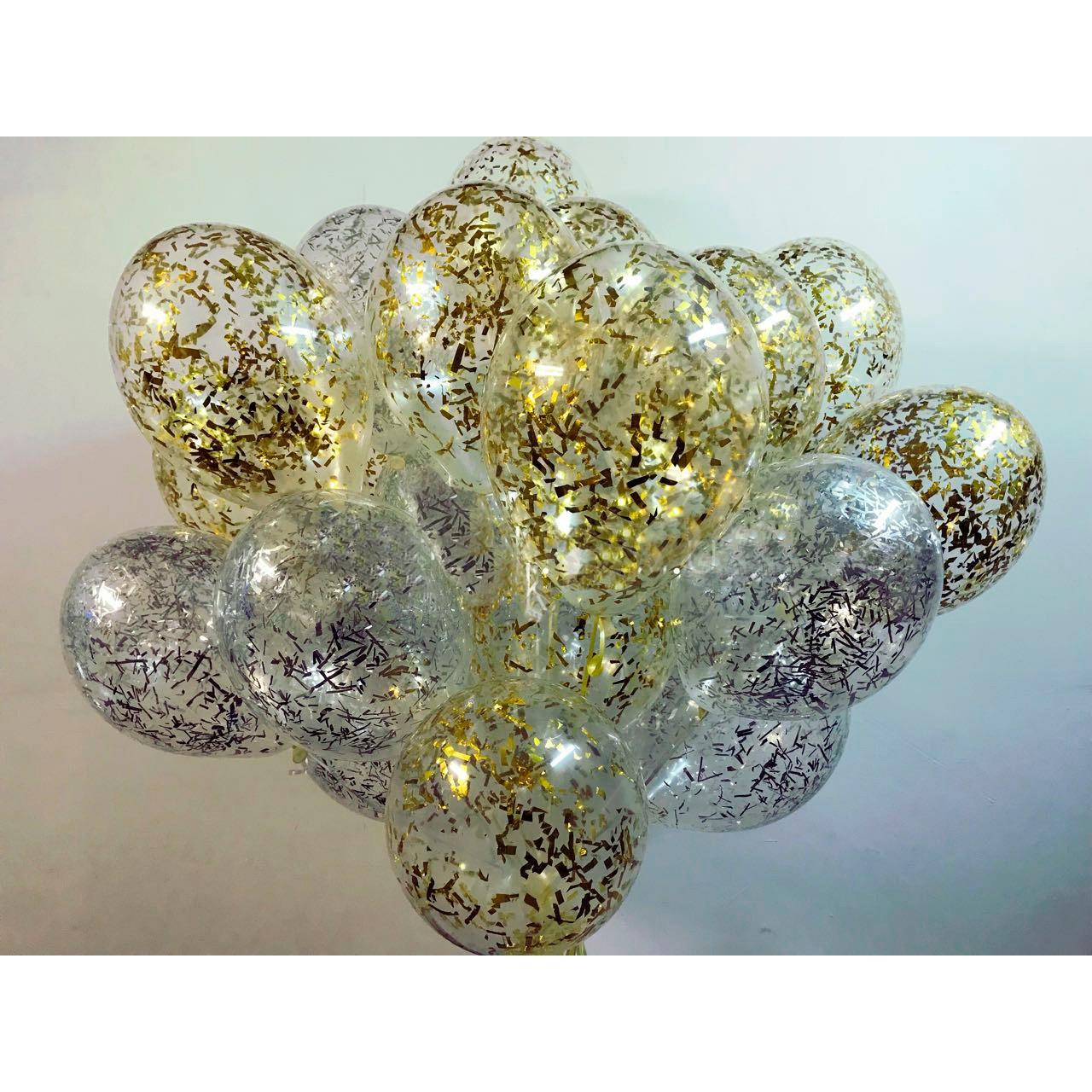 Повітряні кульки Gemar Кристал Прозорий з наповненням 12' (30 см) Gemar 110-00 1593