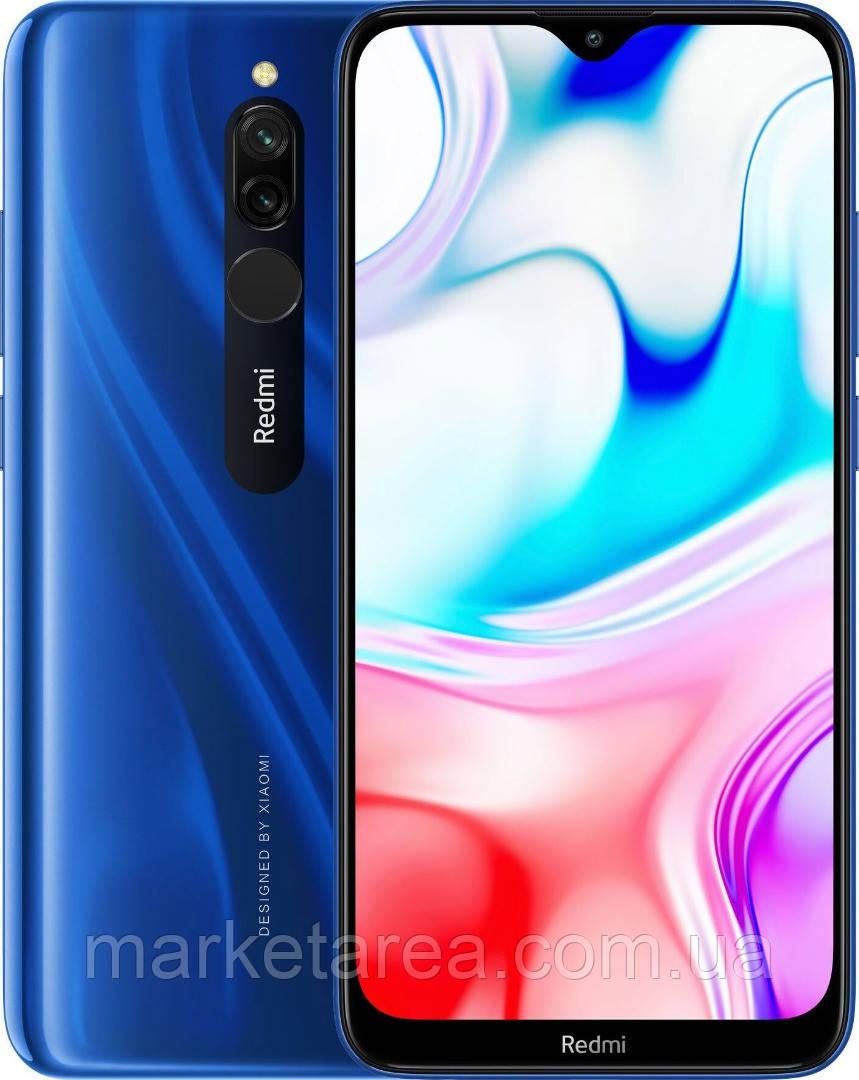 """Смартфон Xiaomi Redmi 8 3/32Gb Blue  6.22"""" 5000мАч, Type-C, Snapdragon 439 ЕВРОПА"""