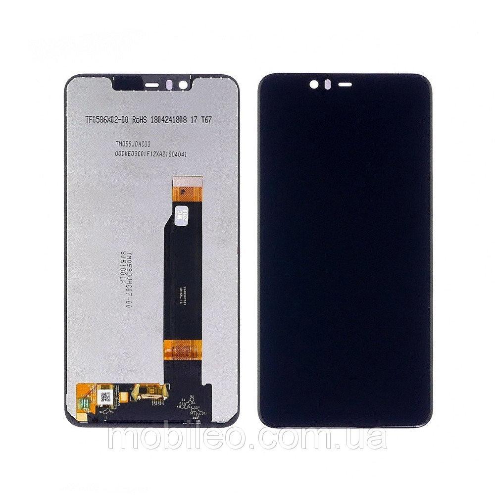 Дисплей (LCD) Nokia 5.1 Plus | X5 (2018) | TA-1102 с тачскрином, черный