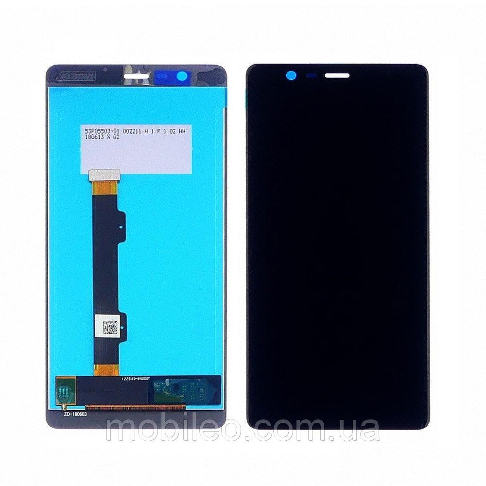 Дисплей (LCD) Nokia 5.1 | TA-1061 | TA-1075 с тачскрином, черный, оригинал (PRC)