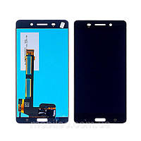 Дисплей (LCD) Nokia 6 Dual Sim   TA-1021   TA-1033 с тачскрином, черный