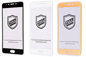 Защитное стекло 3D с полной проклейкой для Samsung Galaxy A70 A705 закаленное