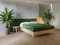 Кровать деревянная дубовая  LEON