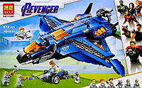Конструктор BELA Super Escort 11261 (Аналог LEGO Super Heroes 76126) 872 детали