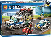 Конструктор BELA Cities Ограбление грузовика 10658 (Аналог LEGO City 60143) 427 деталей