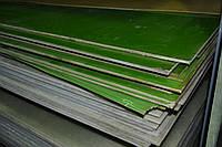 Склотекстоліт СТ-ЕТФ (+180С) ГОСТ 12652-74. Товщина 1мм. Розмір листа 1000х2000мм.