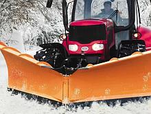Снегоочиститель (снегоотвал) с амортизатором PVHU5P 3200 для всех типов погрузчиков